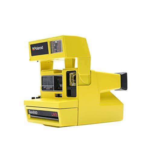"Impossible 4622 Polaroid 600 Filmen Sofortbildkamera One Step Close up \""Sonderedition\"" gelb"