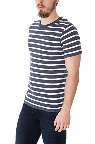 JACK JONES - Herren slim fit t-shirt veric tee crew neck Blue