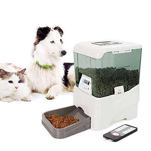 Zun Gu Xuan Pet Feeder kann den Feeder fernsteuern. 10,65 Liter Intelligenter Sensor mit extrem großer Kapazität Cat and Dog Automatic Feeder Feeder Pet Feeder -