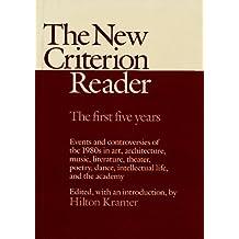 New Criterion Reader by Hilton Kramer (1988-01-18)