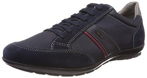 Geox Herren Uomo Symbol A Sneaker Blau (Navy) 44 EU