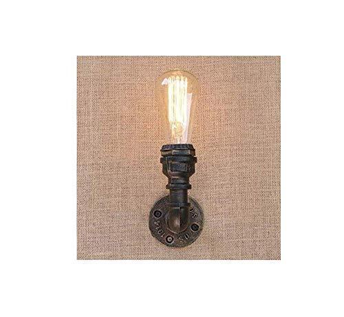 Alte Bronze Pendelleuchte Lampe (Deckenleuchten Lampen Kronleuchter Pendelleuchten Alte Bronze Einzellicht Innenrohr Wandleuchten Industrie Wandleuchte e Editon Light E27 220-240V Kücheneinrichtung [Energieklasse a ++] für Schlafzim)