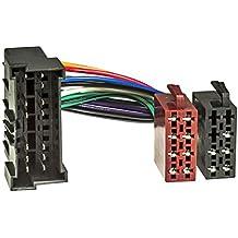 Radio-cable adaptador HYUNDAI 1998>, KIA 2002> a ISO-connettore (