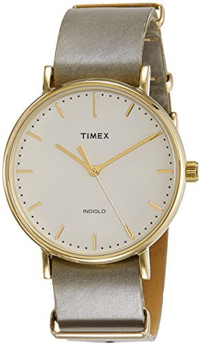 Timex TW2P98000 Weekender Slip-thru Analog Watch For Unisex