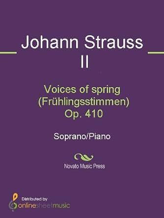Voices of spring (Frühlingsstimmen) Op. 410 - Score and Parts