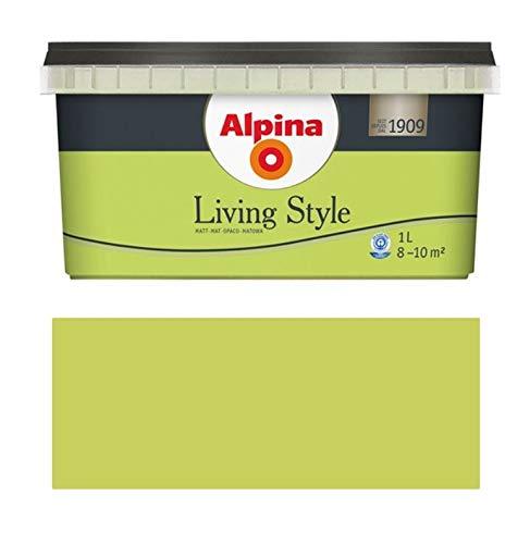 Alpina Living Style 1 Liter, fresh green, Matt für ca. 8-10 m²