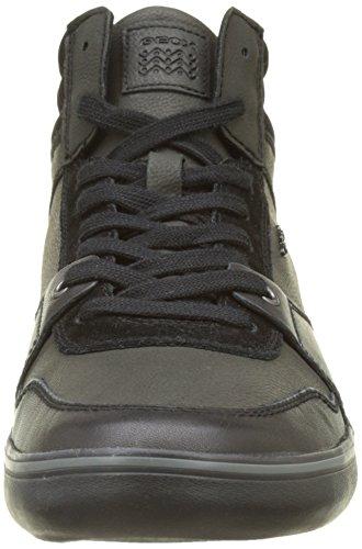 Geox  Herren U Box J Sneaker Alta Nero nero nicamex nicamex nero expo  e040b0