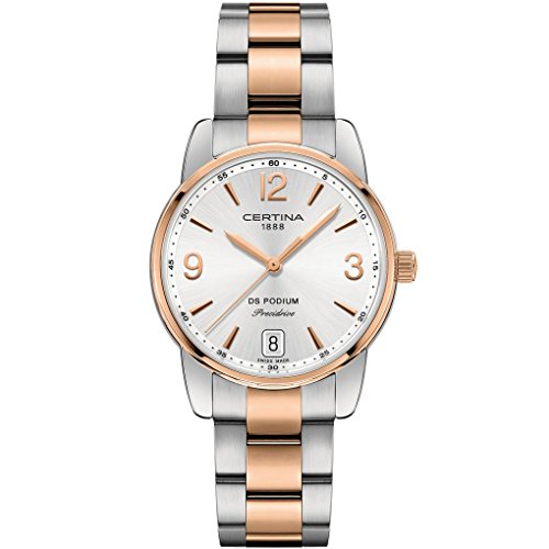CERTINA DS Podium Damen-Armbanduhr 33MM Batterie C034.210.22.037.00