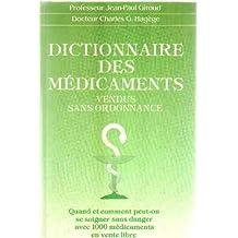 Dictionnaire des Medicaments Vendus sans Ordonnance