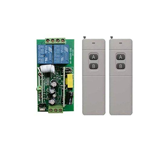 300M 400M 500m AC85V 110V 220V 250V 2 Kanäle drahtloser Rf-Fernsteuerungsschalter energie beleuchtungsschalter kabellose fernbedienung schalter mit 500M Hoch Reichweite Handsender Industrie Rf-handsender