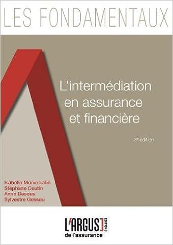 Isabelle Monin - L'intermédiation en assurance et financière de Isabelle