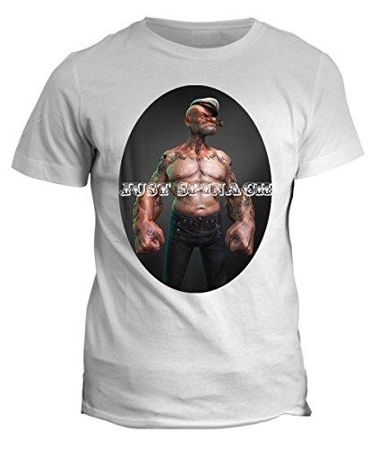T-shirt Braccio di ferro body -tattoo traditional old school tutte le taglie uomo donna bimbo