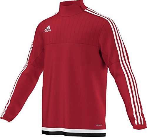adidas Herren Sweatshirt Tiro15 Trainingsshirt Red / White / Black
