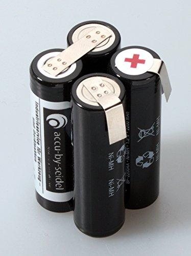 Ersatz- Akku Pack Rohling (BFP4) 4,8Volt - 2200mAh - NiMH (ca.28,7mm x 28,7mm x 49,5mm) - 111g.Zuverlässiger Geräte - Akku für hohe Anforderungen, in Erstausrüster - Qualität mit Ableitern zum löten.
