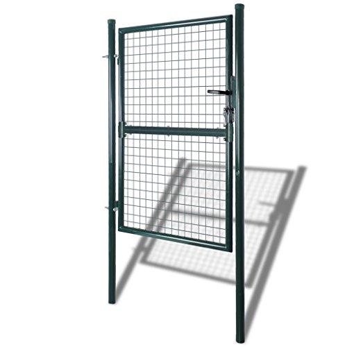porte-portail-de-cloture-en-grillage-galvanisee-100-x-150-cm