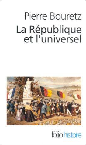 La République et l'Universel