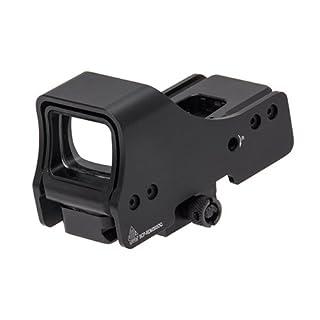 UTG Leapers Erwachsene Holographic Sight 3, 9 Zoll Sicht roten und grünen Punkt Red Dot, schwarz, one Size