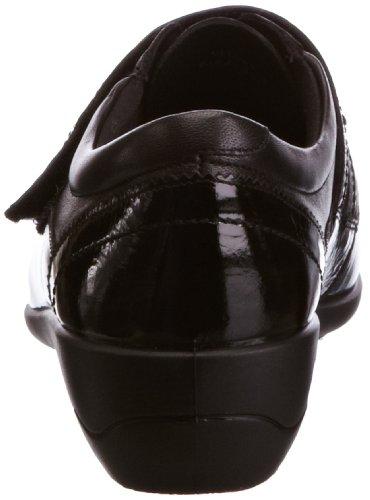 Padders  612 Velvet, ballerines femme Noir - Black Pat