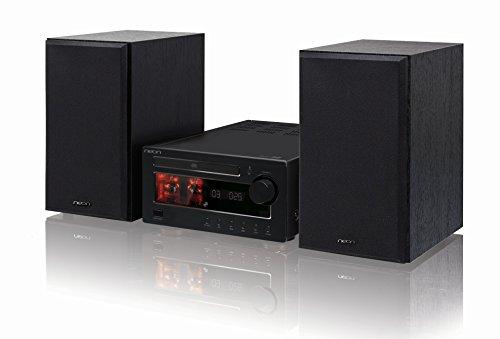 NEON MTB680D - Kompakt Anlage - Röhrenverstärker - 2x35W - CD Micro Hi-Fi System-DAB+/FM-Bluetooth