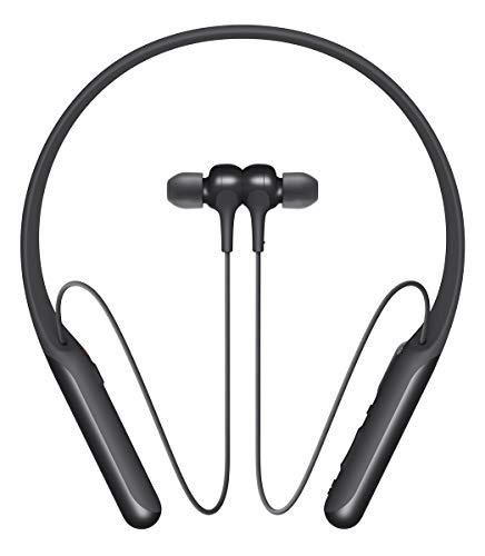 Sony WI-C600N Noise Cancelling Bluetooth In-Ear Kopfhörer (AINC, NFC, Amazon Alexa, Google Assistant, 6,5h Akku, Schnellladefunktion, magnetische Ohrstöpsel) schwarz