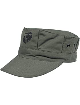 Gorra de estilo marine americano, color verde - verde oliva, tamaño XL