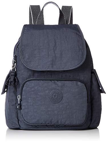 Kipling City Pack Mini - Zaino Donna, Grigio (Night Grey), 27x29x14 Centimeters (B x H x T)