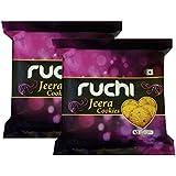 Ruchi Cookies, Jeera, 400g (Pack of 2)