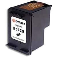 Novajet Remanufactured HP 300XL Black Ink Cartridge High Capacity Compatible