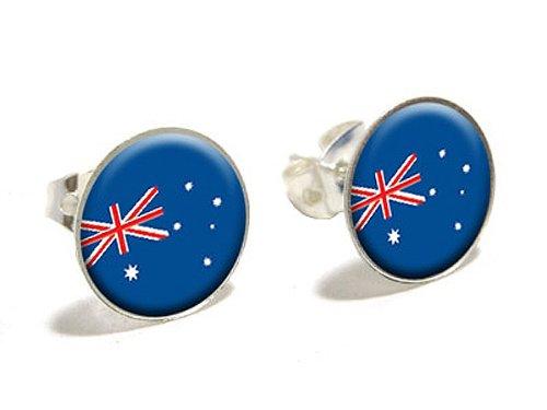 unterhaltungselemente Australian Flag Neuheit, versilberte ()