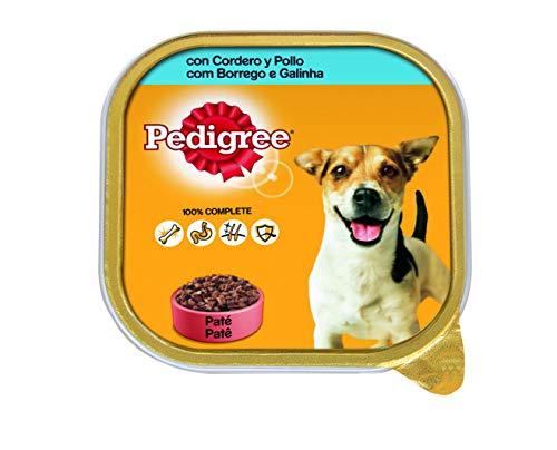 Tarrina para perros adultos de cordero y pollo 300g | [Pack de 20]