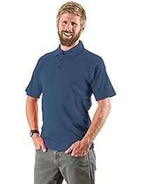 EDZ Merino Mens Polo Shirt 200gsm