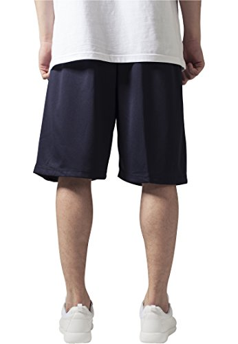 Bball Mesh Shorts Urban Classics Streetwear Pantaloncino Uomo Navy