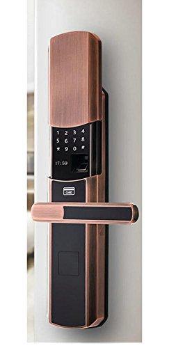 Intelligente Tastatur biometrische Fingerprint Bluetooth Fernbedienung Passwort Türschloss , right hand (Tastatur Biometrische)