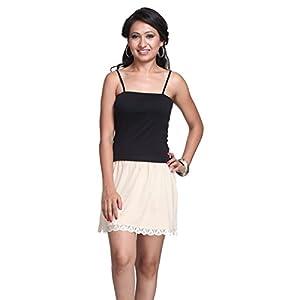 splash Cotton Rich Regular Half Skirt Slip for Women