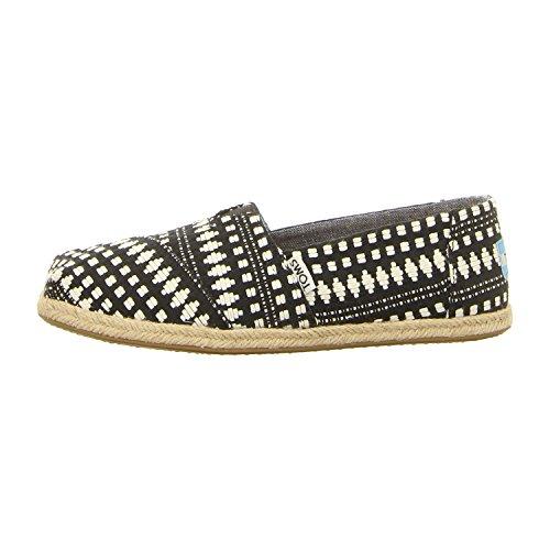TOMS Alpargata Größe 41 EU Black Diamond 5m Schuhe