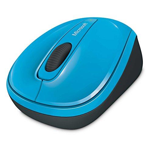 Microsoft Wireless Mobile Mouse 3500 (Maus, zyanblau, kabellos, für Rechts- und Linkshänder geeignet) - Microsoft Wireless Mobile Maus
