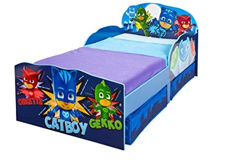 Hello Home Infantil Sofá Cama, Madera, Azul, 142x77x63 cm