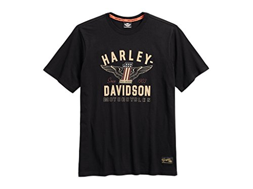 Harley Davidson Men\'s #1 Genuine Classics Graphic Tee T-Shirt, 99033-17VM, S