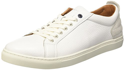 Tommy Hilfiger M2285ount 11a, Sneakers Basses Homme Blanc (White 100)
