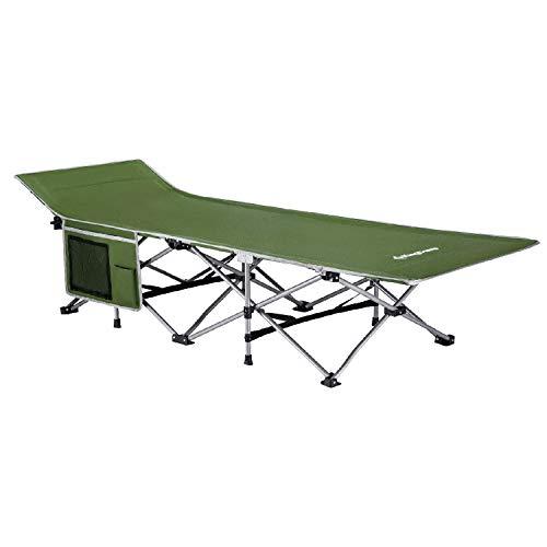 KingCamp Feldbett Campingbett Klappbett bis 120 kg belastbar