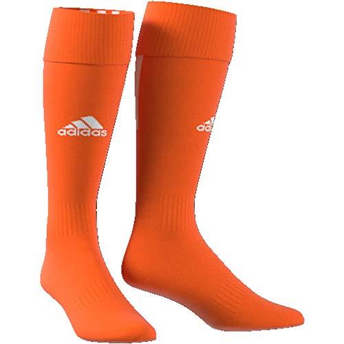 adidas Erwachsene Santos 18 Socken, Orange/White, EU 37-39