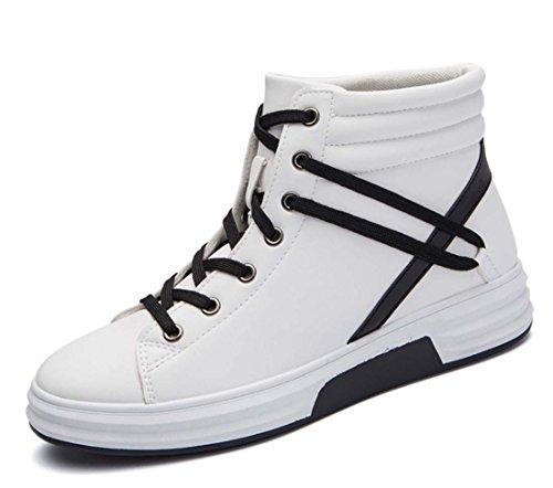 Pallacanestro Scarpe Da Ginnastica Allaperto Scarpe Sportive Leggero Scarpe Da Corsa Assorbimento Di Urti Scarpe Casual Traspirante Comodo Scarpe Da Passeggio White