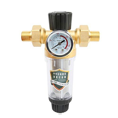 """Spin-Down-Sediment-Wasserhahn Filter, Haushalts-Vorfilter Rohre Zentraler Wasserfilter Entkalkung,K05:3/4\"""" MNPT=25mm"""