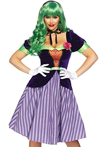 Laughing Lady Fancy Dress Costume Women's Medium -