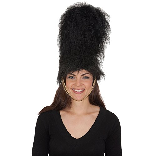 Beefeater Hat With Chin Strap (Beefeater Kostüm)