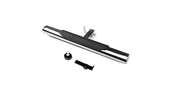 Black 35 x 4 Oval Tube Class III 2 Recevier Hitch Step Bar