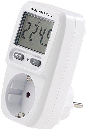 revolt Energiekostenmesser: Digitaler Energiekosten-Messer & Stromverbrauchs-Zähler, bis 3.680 W (Strommesser) -