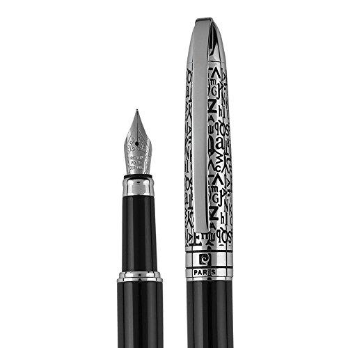 PIERRE CARDIN Füllfederhalter edel Tintenfüller fountain pen Luxus Füller aus Metall Fueller hochwertig JACQUES FF
