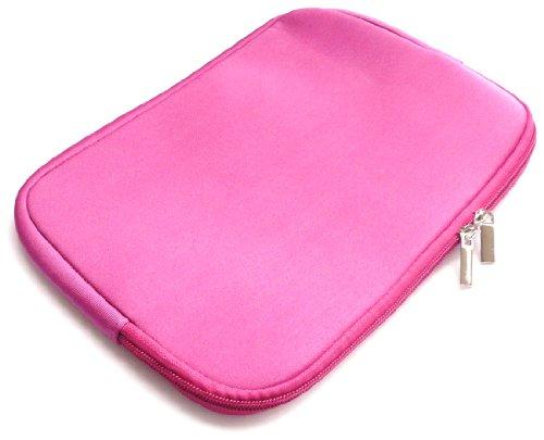 Emartbuy® Hot Rosa Wasserabweisende Weiche Neopren Hülle Schutzhülle Sleeve Case mit Reißverschluss...