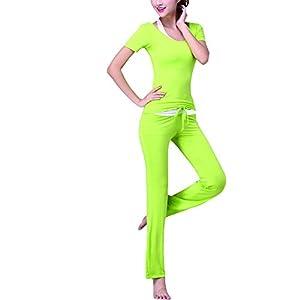 Sidiou Group Frauen-Yoga-Anzug Modal Yoga Set Tanz Fitness Sportbekleidung dreiteilige Yoga-Kleidung